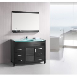 "Design Element Waterfall 48"" Single Sink Vanity Set"