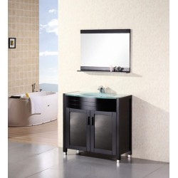 "Design Element Waterfall 36"" Single Sink Vanity Set"