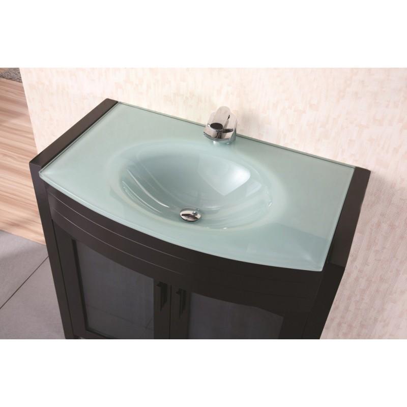Design elements prestige 36 single sink vanity set dec018 for Waterfall set design