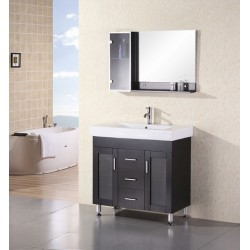 "Design Element Milan 36"" Single Sink Vanity Set"