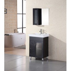 "Design Element Milan 24"" Single Sink Vanity Set"