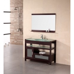 "Design Element Naples 43"" Single Sink Vanity Set"