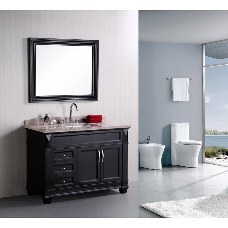 Design Elements Hudson 48 Single Bathroom Vanity Set