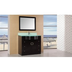 "Design Element Aria 40"" Single Sink Vanity Set"