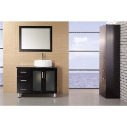"Design Element Malibu 39"" Single Sink Vanity Set"