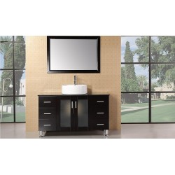 "Design Element Malibu 48"" Single Sink Vanity Set"