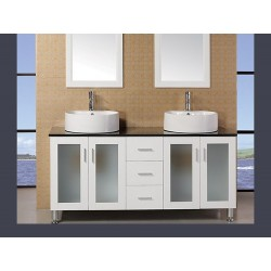 "Design Element Malibu 60"" Single Sink Vanity Set"