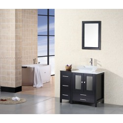 "Design Element Arlington 36"" Single Sink Vanity Set"