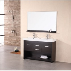 "Design Element Citrus 48"" Double Sink Vanity Set"