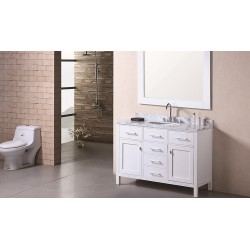 "Design Element London 48"" Single Sink Vanity Set"