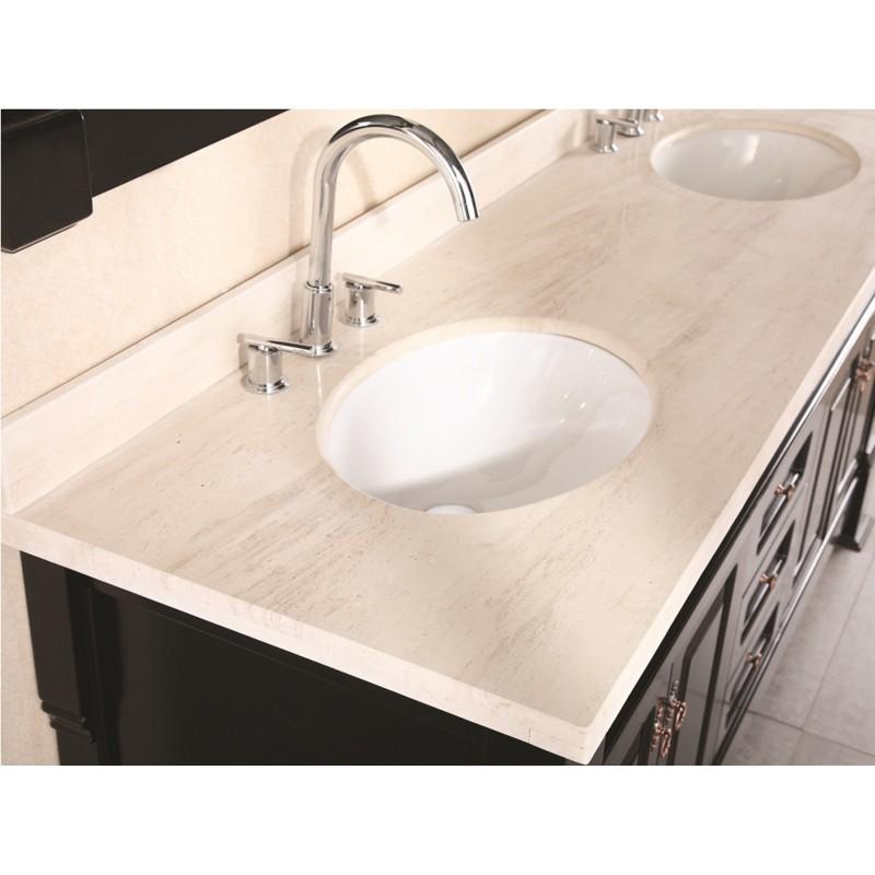 Design elements marcos 72 double sink vanity set dec081b for Design element marcos solid wood double sink bathroom vanity