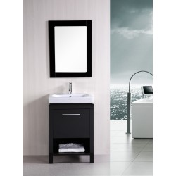 "Design Element New York 24"" Single Sink Vanity Set"