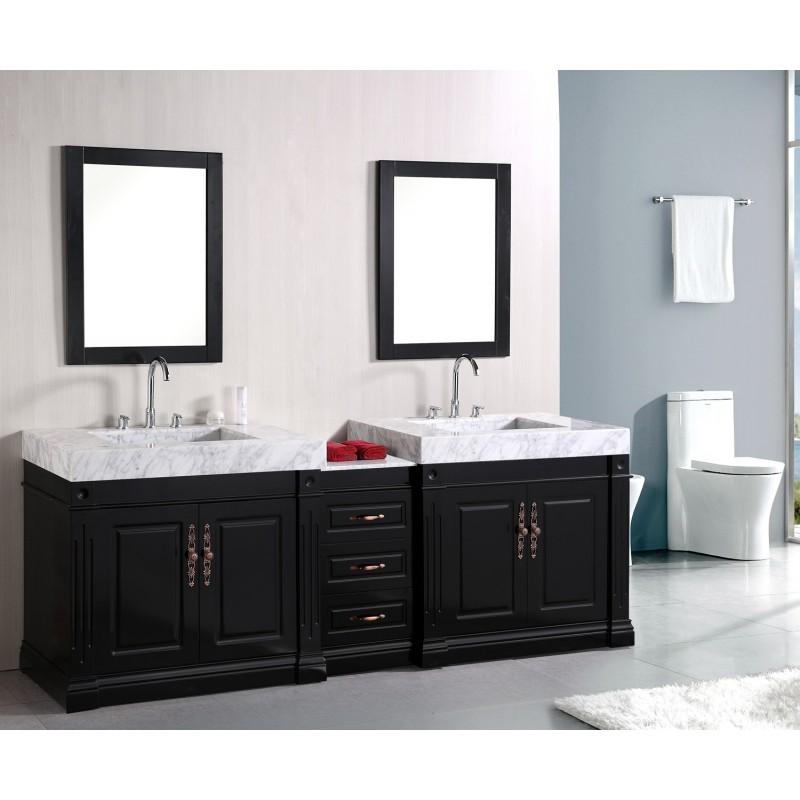 Design Elements Odyssey 90 Quot Double Sink Vanity Set Dec101