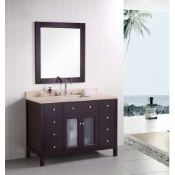 "Design Element Venetian 48"" Single Sink Vanity Set"