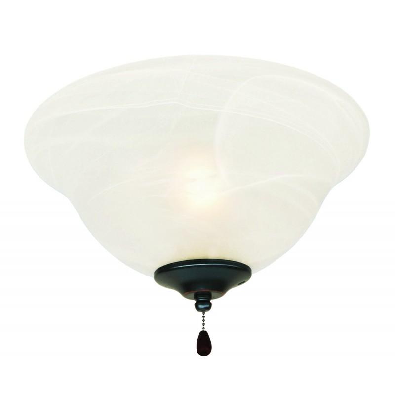 Design House 154211 3 Light Ceiling Fan Light Kit With