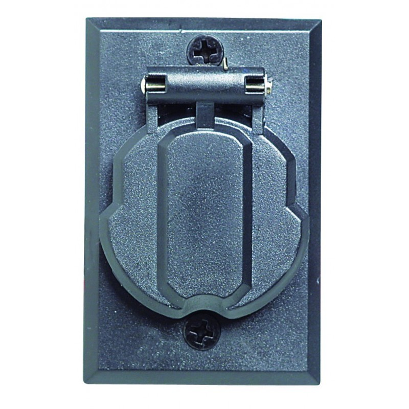 Design House 502112 Replacement Post Outlet Black