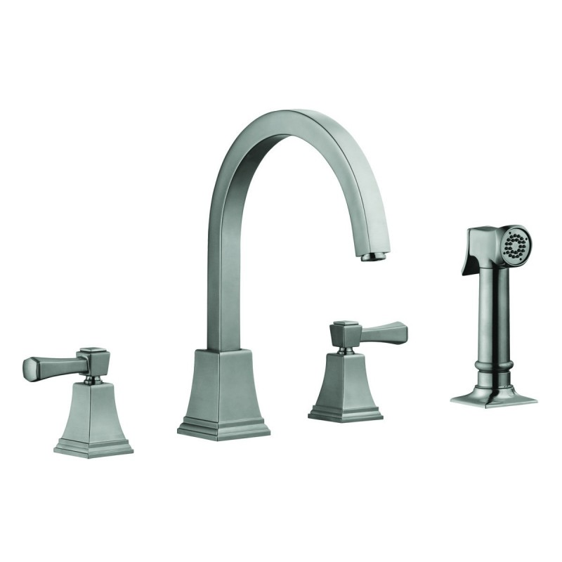 design house kitchen faucets design house 522110 torino kitchen faucets satin nickel 6565