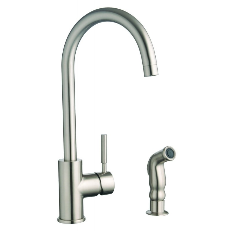 design house 523183 springport kitchen faucets designer goose neck stainless steel kitchen faucet cold water