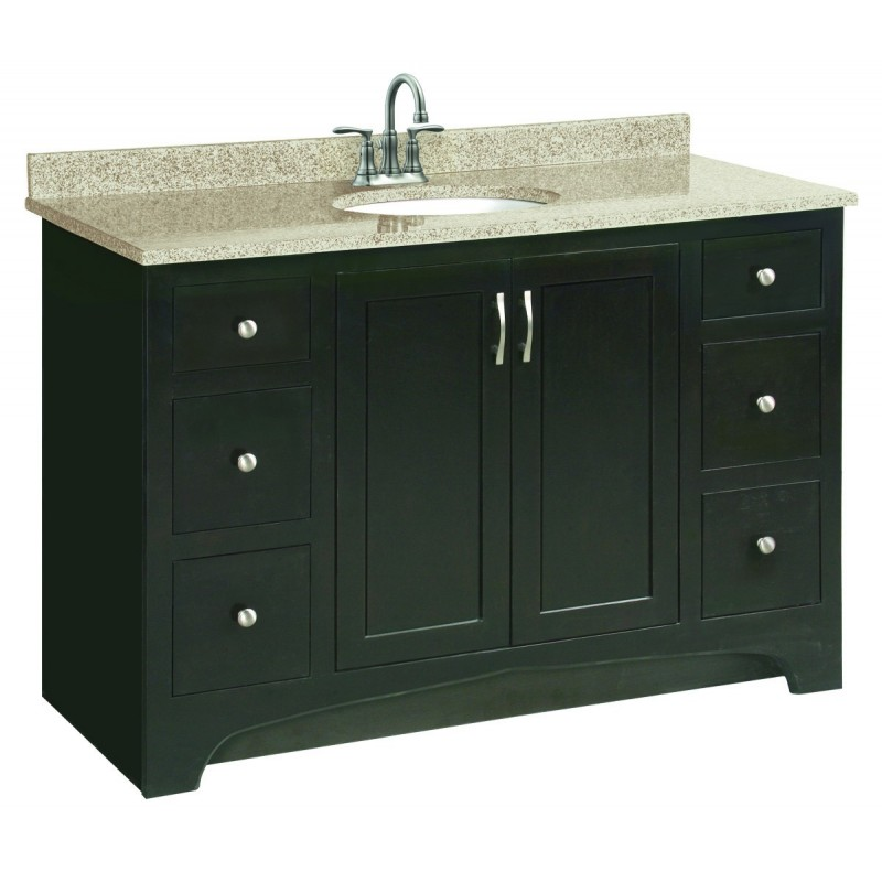 Design House 539627 Ventura 2 Door & 4 Drawer Vanity Cabinets
