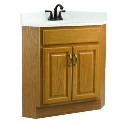 Design House 530527 Richland 24X21 Two Doors Corner Vanity Cabinets