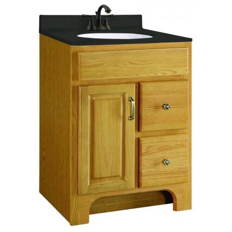 Design house 541128 richland 1 doors 2 drawers vanity cabinets - Unassembled bathroom vanity cabinets ...