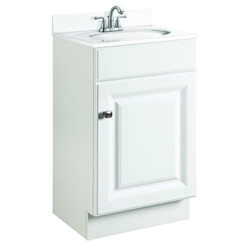Design House 531723 Wyndham White One Door Vanity Cabinets