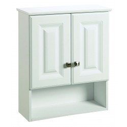 Design House 531715 Wyndham White 2 Door Vanity Cabinets