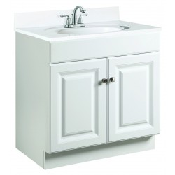 Design House 531731 Wyndham White 2 Door Vanity Cabinets