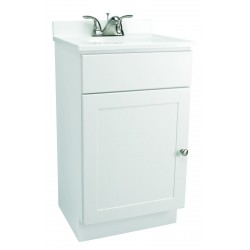 Design House 541599 Vanity Combo 18X16 Single Door Vanity Cabinets