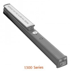 RCI 1300 Series Electrified Rim Exit Device for Fire Doors with Alarm Module (12-24 VDC Remote)