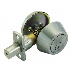 Design House 740423 Single Cylinder Deadbolt Deadbolts