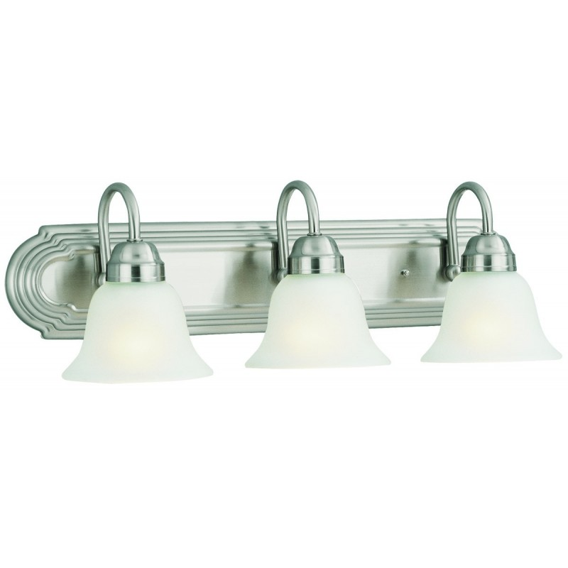 Design House Vanity Lighting : Design House 506584 Allante Bath/Vanity Lights with Frosted Glass