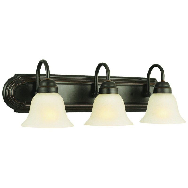 Design House 506584 Allante Bath/Vanity Lights with Frosted Glass