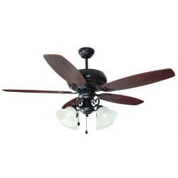 "Design House 154005 Drake 52"" Oil Rubbed Bronze Ceiling Fan"