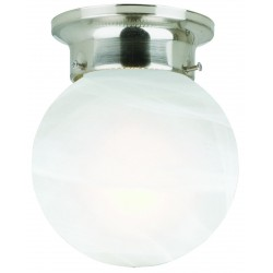 Design House 1 Light Round Ceiling Light