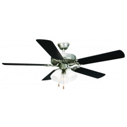"Design House 153957 Millbridge 52"" Ceiling Fan Frosted Glass"