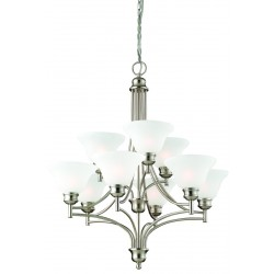 Design House Bristol 9 Light Chandelier