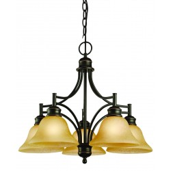 Design House Bristol 5 Light Chandelier
