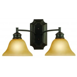 Design House Bristol 2 Light Wall Mount