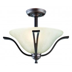 Design House 517631 Ironwood Semi Flush Ceiling Mount
