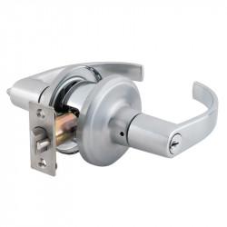 Stanley K2 QTL Essex Commercial Satin Chrome Tubular Lever
