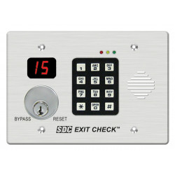 SDC 101 Delayed Egress Exit Check EmLock with Wall Mount Controller
