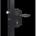 Locinox LAKY J2 Standard Lock with Narrow Lockbox for Swing Gates