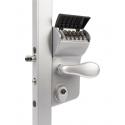 Locinox LMKQ V2 VINCI Mechanical Code Lock 2 Sided for Swing Gates