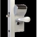 Locinox LFKQ X1 FREE VINCI Mechanical Code Lock Free Exit for Swing Gates