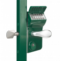 Locinox LLKZ V2 LEONARDO Mechanical Code Lock for Sliding Gates