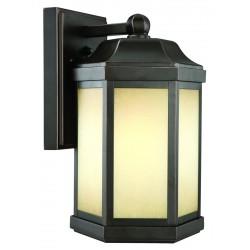Design House 514992 Bennett Outdoor Fluorescent Downlight with Photocell