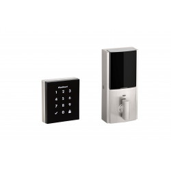 Kwikset 954 Obsidian Electronic Lock Now with Z-Wave Plus