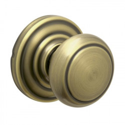 Schlage Andover Privacy Door Knob with Andover Decorative Rose