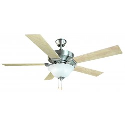 Design House 154070 Ironwood ES Ceiling Fan, 52-Inch